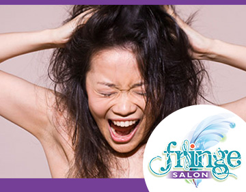 Fix your stressed Hair at FringeSalonMN