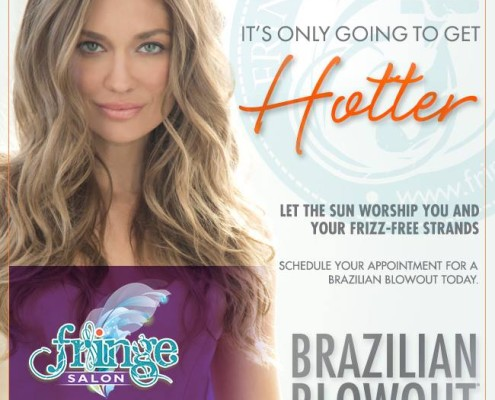 Hotter Brazilian Blowout at Fringe Salon MN