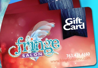 Holiday Gift Cards at Fringe Salon