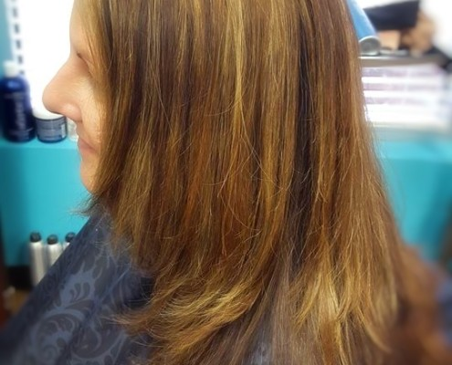 Subtle Enhancements at Fringe Salon in Coon Rapids!