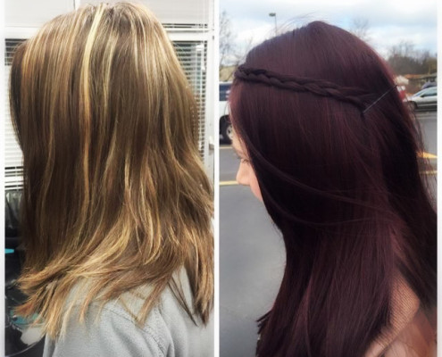 Color and Styles from Fringe Salon MN!