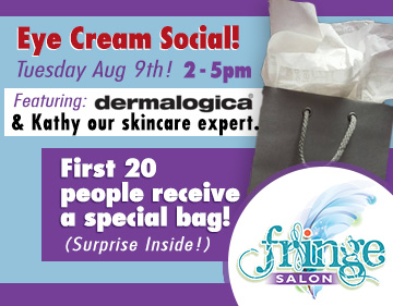 Fringe Salon Coon Rapids Eye Cream Social