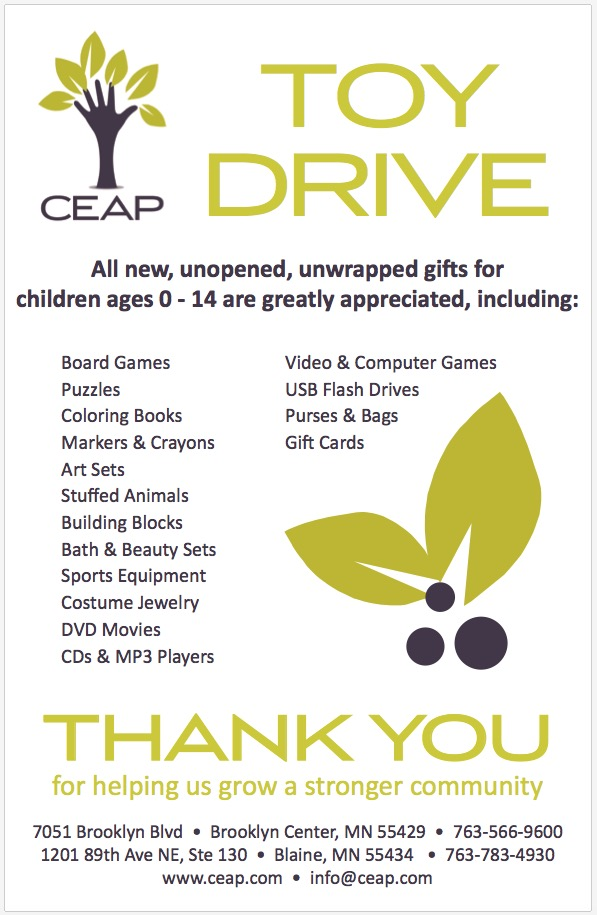 CEAP Toy Drive At Fringe Salon