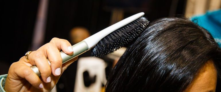 The First Smart Hairbrush - Fringe Salon in Coon Rapids.