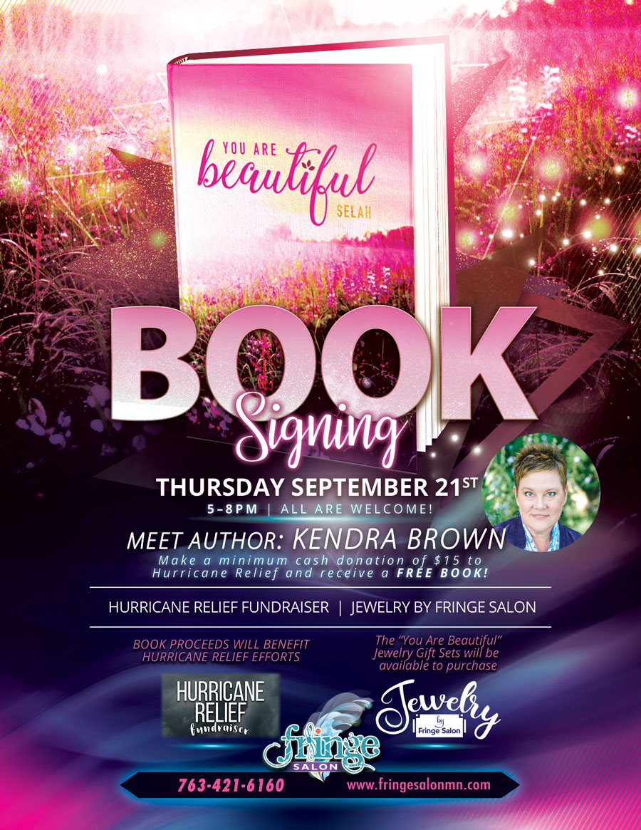 """You Are Beautiful Selah"" Book Signing and Meet the Author EVENT!"