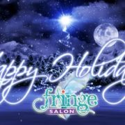 Happy Holidays from Fringe Salon in Coon Rapids MN