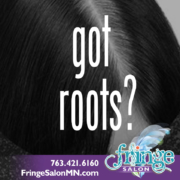 Hair Roots Help from Fringe Salon in Anoka MN.