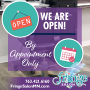 Fringe Salon is OPEN