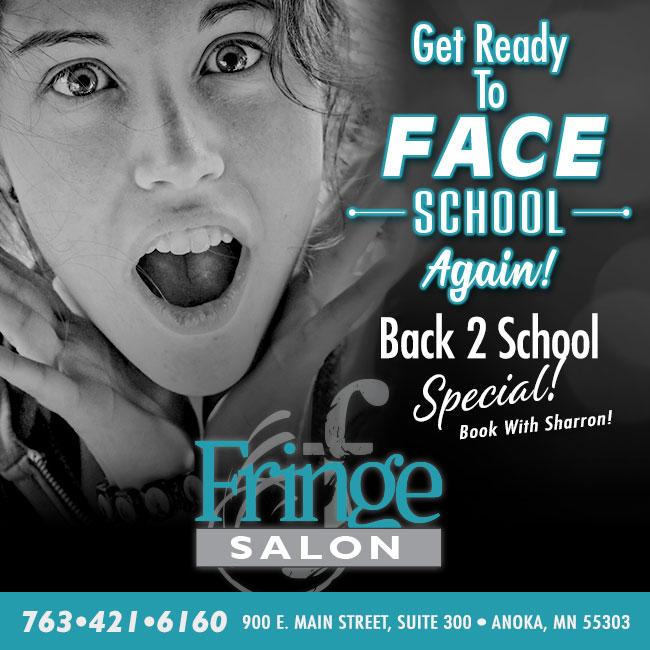 Teen Facial Special at Fringe Salon in Anoka